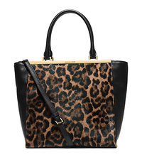 Lana Leopard-Print Hair Calf and Leather Tote - ONE COLOR - 30H4GKYT3H
