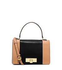 Callie Medium Color-Block Leather Messenger - ONE COLOR - 30H4GYAM2T