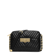 Susannah Medium Quilted-Leather Messenger - BLACK - 30H4GZIM2T
