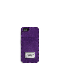 Lydia Saffiano Leather Phone Case - ONE COLOR - 32F4SELL5L