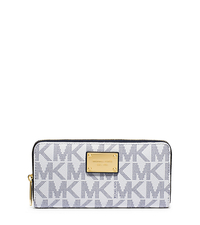 Jet Set Travel Logo Continental Wallet - NAVY/WHITE - 32S12JSZ3B