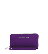 Jet Set Travel Phone Wristlet for iPhone and Samsung - GRAPE - 32T4STVE3L