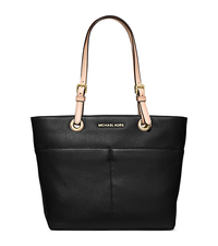 Bedford Leather Tote - BLACK - 30H4GBFT6L