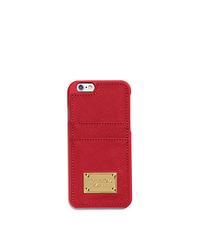 PHONE COVER W POCKET 6 - RED - 32H4GELL3L