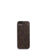 Slim Logo Phone Case for iPhone 5 - BROWN - 32H4GELP3B