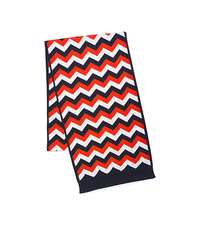 Chevron Striped Scarf - ONE COLOR - MH40B151FK