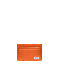 Leather Card Case - POPPY - 39S5LMND1L