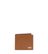Leather Billfold - LUGGAGE - 39S5LMNF1L