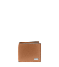 Leather Billfold - LUGGAGE - 39S5LMNF2L