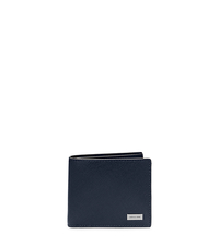 Leather Billfold - NAVY - 39S5LMNF1L