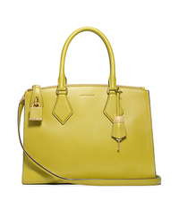 Casey Leather Large Satchel - APPLE - 31F4GCYS3L