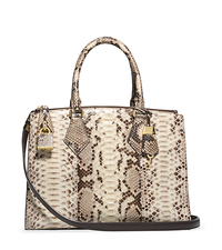 Casey Python Large Satchel - ONE COLOR - 31F4GCYS3P