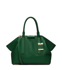Lexi Large Satchel - DARK EMERALD - 31F4GLXS3L