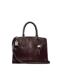 Casey Haircalf Small Satchel - ONE COLOR - 31F4MCYS1H