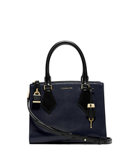 Casey Calf Leather Small Satchel - ONE COLOR - 31F4MCYS1T