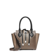 Miranda Tri-Color Calf Leather Extra-Small Tote - ONE COLOR - 31F4PMBT1L