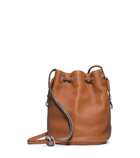 Julie Drawstring Leather Small Crossbody - ONE COLOR - 31F4TJUX1L