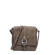 Julie Double-Ring Leather Mini Crossbody - ELEPHANT - 31F4TJUX5L