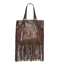 Joni Python Fringe Large Tote - ONE COLOR - 31F4TONT3P