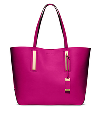 Jaryn Calf Leather Tote - FUSCHIA - 31T4GJYT6L