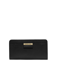 Lexi Leather Continental Wallet - BLACK - 37F4GLXZ2L