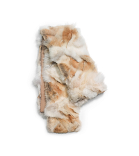 Coyote Fur Scarf - ONE COLOR - 707AKD309