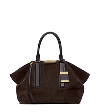 Lexi Suede Large Satchel - ONE COLOR - 31F4GLXS3S