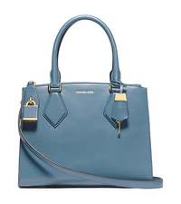 Casey Medium Leather Satchel - ONE COLOR - 31F4GCYS2L