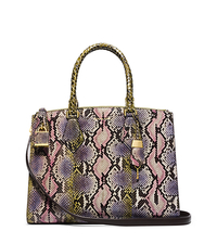 Casey Large Hand-Painted Python Satchel - ONE COLOR - 31H4GCYS3V