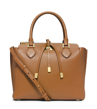 Miranda Large Leather Satchel - LUGGAGE - 31H4GMDS7L