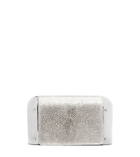 Leyla Small Stingray Clutch - PALE GOLD - 31H4MLYC1U