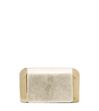 Leyla Stingray Small Clutch - PALE GOLD - 31H4MLYC1U