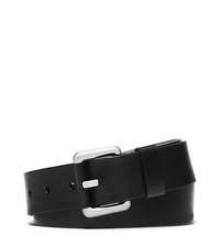 Vachetta Leather Trouser Belt - BLACK - 31H4TBLA2L