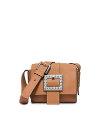 Janey Small Pavé-Embellished Leather Crossbody - ONE COLOR - 31H4TJWX2L