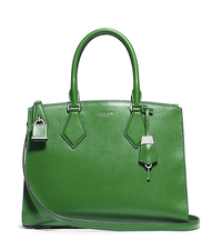 Casey Large Leather Satchel - ONE COLOR - 31S5PCYS3L