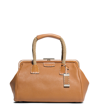 Millicent Large Leather and Rope Satchel - ONE COLOR - 31S5TMIS3L
