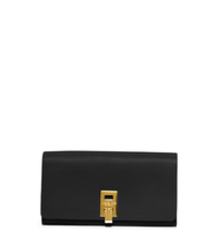 Miranda Continental Leather Wallet - BLACK - 37S5GMDE2L