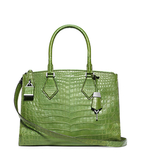 Casey Large Crocodile Satchel - ONE COLOR - 31S5PCYS3R