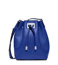 Miranda Medium Leather Messenger - COBALT - 31T5PMDM2L