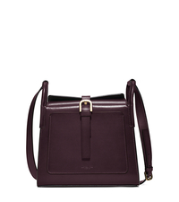 Brackley Medium Leather Pocket Crossbody - BORDEAUX - 31F5ABDX2L