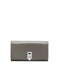 Miranda Leather Continental Wallet - GRAPHITE - 37S5PMDE2L