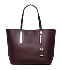 Jaryn Large Leather Tote - BORDEAUX - 31T4PJYT6L