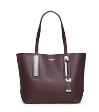 Jaryn Medium Leather Tote - BORDEAUX - 31T4PJYT4L