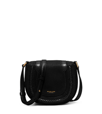 Skorpios Small Leather Crossbody - BLACK - 31H5GSKX1L