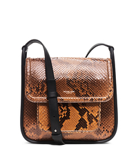 Tenby Python Crossbody - LUGGAGE - 31H5PTEM2P