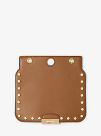 Sloan Select Mix and Match Medium Studded Leather Flap - ACORN - 30H6GZ1L3L