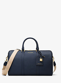 Jet Set Travel Large Leather Weekender - ADMIRAL - 30H6GTMU4L