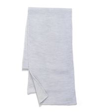 Reversible Jersey Scarf - GREY - 29536211