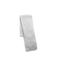 Raised-Logo Scarf - SILVER/GREY - 536470