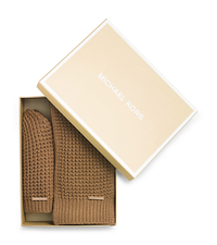 Beanie and Scarf Box Set - DARK CAMEL - 536636